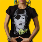David Bowie Girls Jersey Tee