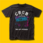 CBGB & OMFUG No Disco T-Shirt