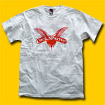 Cock Sparrer White T-Shirt