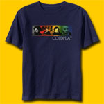 Coldplay Strip Rock T-Shirt