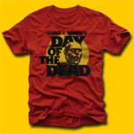 Day Of The Dead Romero's Classic Movie T-Shirt