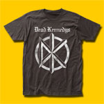 Dead Kennedys Distressed Old English Logo T-Shirt