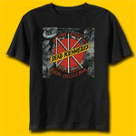 Dead Kennedys Fiscal 1983 U.S. Tour Rock T-Shirt