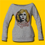 Debbie Harry Retro Debbie Heather Grey Sweatshirt