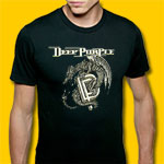 Deep Purple Classic Rock Fitted Jersey T-Shirt
