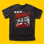 D.O.A. Bloodied But Unbowed Punk Rock T-Shirt