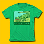 Florida Gator Travel T-Shirt