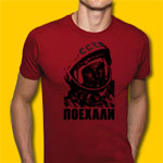 Gagarin Red T-Shirt