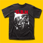 GBH Live Photo Punk Rock T-Shirt