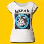 Germs Return! Girls Cut T-Shirt
