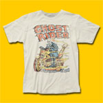 Ghost Rider Hell on Wheels Vintage White T-Shirt