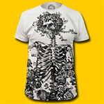 Grateful Dead Skeleton & Roses T-Shirt