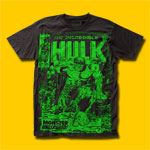 Hulk The Incredible Hulk Monster Unleashed  T-Shirt