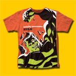 Hulk Awesome Hulk Michael Cho Design T-Shirt