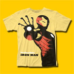 Iron Man Invincible Michael Cho Design T-Shirt