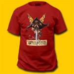 Jethro Tull Broadsword Red T-Shirt