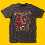 Jethro Tull Tour 75 Coal T-Shirt