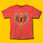 Journey Hits Heather Red T-Shirt