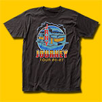 Journey Raised On Radio Coal T-Shirt