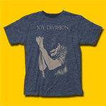 Joy Division Ian Curtis Heather Navy T-Shirt