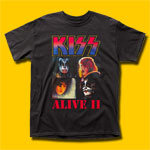 KISS Alive II Black T-Shirt