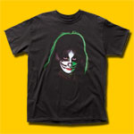 KISS Peter Criss Black T-Shirt
