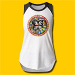 KISS Rock and Roll Over Girls Cut Raglan