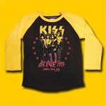 Kiss Alive 35 Tour 2008 L/Sleeve Toddler T-Shirt