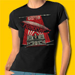 Led Zeppelin Mothership Black Girl's T Shirt