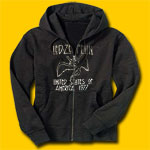 Led Zeppelin US Tour 77 Classic Rock Hooded Sweatshirt