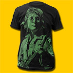 John Lennon Black T-Shirt