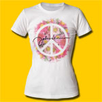 John Lennon Peace Girls Crew T-Shirt