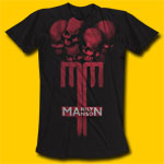 Marilyn Manson Skull Cross T-Shirt