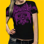Metallica Girls Jersey Tee