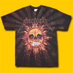 Metallica Pushead Sun T-Shirt