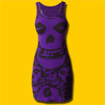 Misfits Purple Dress
