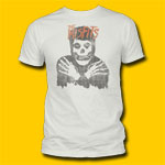 Misfits Distressed Vintage White T-Shirt
