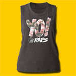 MTV Yo! MTV Raps Girls Sleeveless Muscle Tank