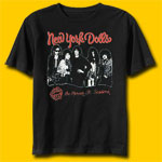 New York Dolls Lipstick Killers Rock T-Shirt