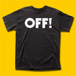OFF! Logo Black T-Shirt