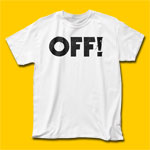OFF! Logo White T-Shirt