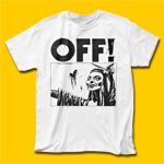 OFF! Satan Did Not Appear White T-Shirt