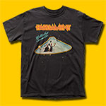 Parliament Mothership Connection Black T-Shirt
