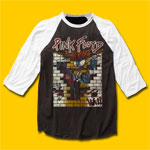 Pink Floyd The Wall Vintage look 3/4 Sleeve Baseball Jersey