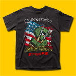 Queensrÿche Empire Tour Black T-Shirt