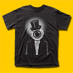 The Residents The Eyeball Black T-Shirt