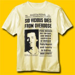 Sid Vicious Daily News T-Shirt