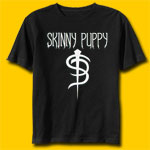 Skinny Puppy Logo Rock T-Shirt