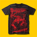 Spider-Man Spider or the Man T-Shirt