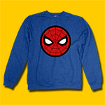Spider-Man Circle Logo Heather Fleece Sweatshirt